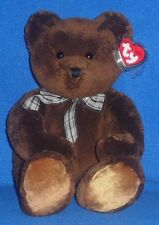 """TY CLASSIC PLUSH - MOLASSES the 14""""  BEAR – MINT with MINT TAG (PRICE STICKER)"""