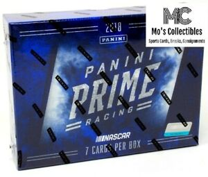 2018 Panini Prime Racing 8 Box Full Case Group Break Alex Bowman
