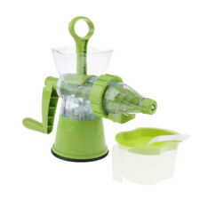Handle Juicer Juice Cold Press Fruit Wheatgrass Carrot Icecream Blenders