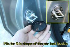 Door Lock Protector Buckle Cover Caps For MAZDA 2 3 5 6 CX-5 Car Trim Accessory