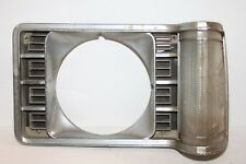1975 76 77 FORD ORIGINAL LH GRANADA CHROME HEADLIGHT BEZEL D5DB 13064DB 036-C6