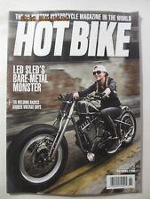 Hot Bike magazine - Issue #1 + Issue  #2 - 2018