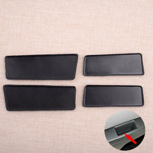 4Pcs Front &Rear Door-Switch Bezel Mat Cap Fit For Chevrolet Cruze 11-15 Durable