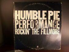Original Humble Pie Performance Rockin' The Fillmore 1971 Vinyl Record Album