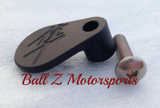 Hayabusa Solid Black Anodized Engraved Speed Sensor Cover Cap! 99-03-07-08-15-16
