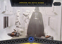 STAR WARS GALACTIC FILES 2012 TOPPS HEROES ON BOTH SIDES CARD #HB-7