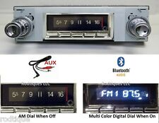 1964-67 GTO LeMans Tempest Bluetooth Stereo Radio Multi Color Display USA 740