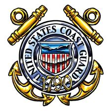 US Coast Guard Temporary Tattoo, pack of 2, Made in the USA