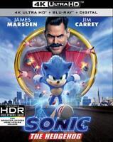 SONIC THE HEDGEHOG NEW DVD