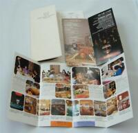 Vintage Imperial Hotel Tokyo Travel Lot  Brochures Rates Booklet 70's Japan