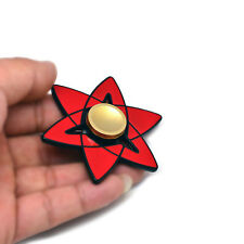 Naruto Uchiha Sasuke Kaleidoscope Sharingan Fidget Hand Finger Spinner Toy ADHD