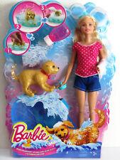 Mattel DGY83 Barbie Hundebad - Spielset Puppe und Hündchen Figur