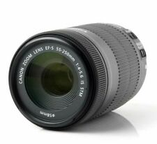 Canon EF-S 55-250mm f4-5.6 IS STM Lens 3 YEAR UK WARRANTY