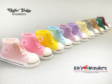 Shoes for Blythe Pullip Dolls, BJD Licca Azone Jerryb Sneakers upto 3.3cm feet
