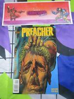 vtg preacher #5 vertigo DC Comic book hi res pics