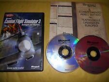 PC GAME-MICROSOFT COMBAT FLIGHT SIMULATOR 3-III-Computer-Gioco-Games-ITALIANO