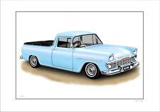 HOLDEN  EK  UTE   138     LIMITED EDITION CAR PRINT AUTOMOTIVE ARTWORK