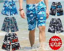 QUICK-DRY Men's Surf Board Shorts Casual Shorts Swim Beach Trunks (One Size)NEW