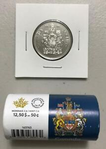 CANADA 2018 50 Cent Coin 🍁💲 UNC from Special Wrap Roll 💲🍁