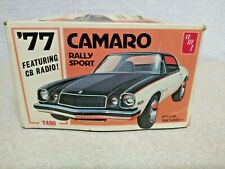 AMT 1977 Chevy Camaro Model Kit Box Only. Very Rare In Fair Condition...
