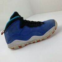 Air Jordan 10 Retro GS Youth Size 5.5Y Blue 310806-408 Tinker (RIGHT Shoe Only)
