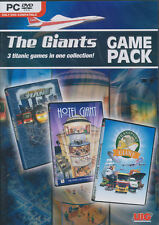 THE GIANTS - Hotel, Transport & Traffic Giant 3x Games - Tycoon Industry Sim NEW