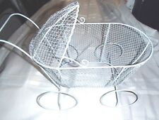 Baby Carriage Metal Form Centerpiece Baby Shower Gift Basket Favor decorate New