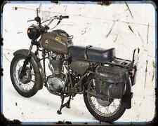 Ducati Condor 350 Militare  1 A4 Photo Print Motorbike Vintage Aged