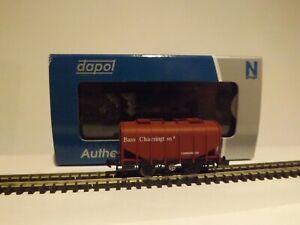 """DAPOL MODEL TRAINS 2F-036-002 A BULK GRAIN HOPPER """"BASS CHARRINGTON"""" NEW/BOXED"""