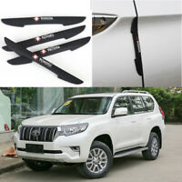 For Toyota Prado Car Side Door Edge Guard Bumper Trim Protector 4pcs