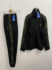 Adidas Originals Tracksuit Black Camouflage Size XL