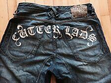 Artful Dodger Lads Jeans Vintage Blue Relax Zip Fly Size 36