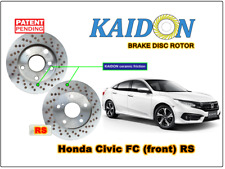 "Honda Civic FC disc rotor KAIDON(front) type ""BS"" / ""RS"" spec"