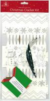 Machen & Farbe Dein Eigenes Personalisiert Weihnachten Knallbonbon Set Hut &