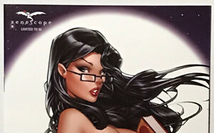 GRIMM FAIRY TALES #13 (Vol 2) Z-Rated Exclusive Cover by Keith Garvey LE 50 NM