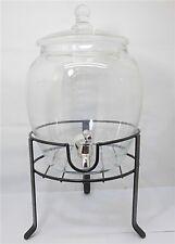 1X Apothecary Drink Beverages Dispenser Jar w/Dispay 32cm High