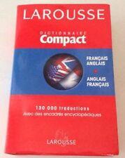 Dictionnaire Compact Larousse / Français - Anglais * Anglais - Français