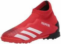 adidas Kids' Predator 20.3 Turf Soccer Shoe, Black, Size 4.0 wPeF