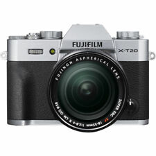 Fujifilm X-T20 Mirrorless Digital Camera with 18-55mm Lens Silver