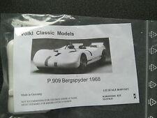 1/32 VMC Porsche 909 Bergspyder 1968 GFK Slot Kit Neu