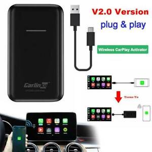 Carlinkit V2.0 OEM Wired CarPlay Upgrade to Wireless CarPlay Activator Dongle