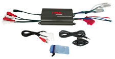 Pyle - PLMRMP3B - Marine 800W 4 Channel iPod/MP3 Power Amp+Volume Remote Control