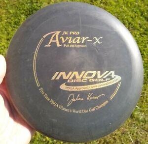 Rare! Black PFN Innova 5x JK Pro Aviar-X - 174g, 2-Ring Tooling, No Ink, 8/10!