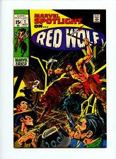Marvel Spotlight #1 Red Wolf VF+