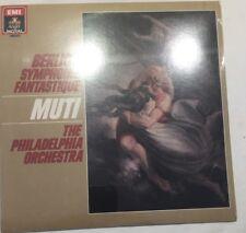 BERLIOZ: Symphonie Fantastique MUTI Philadelphia Orch. EMI ANGEL LP - NEW