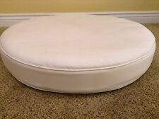Frontgate Malibu Outdoor Patio Sofa Ottoman cushion 26x67 Golden Sesame Tan *