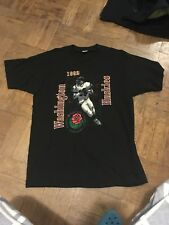 Vintage Washington Huskies Rose Bowl 1992 Tshirt Size XL Fruit Of Loom
