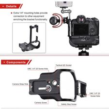L Bracket Quick Release Bracket For Canon EOS R5/R6 With Battery Grip BG-R10