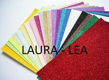 Glitter Card A4 -  Quantity 2 sheets comes in 28 colours