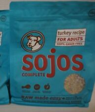 Sojos Turkey Recipe Complete Adult Dog Food, 1.75 Lb